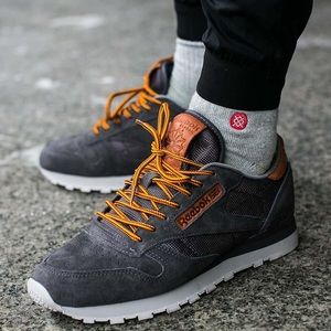Rare Reebok classic leather with Ortholite insole